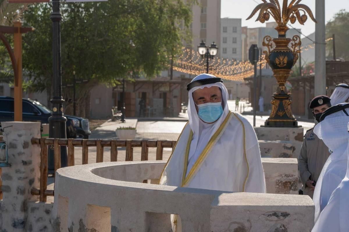 Sharjah Ruler, Khor Fakkan, Khor Fakkan heritage area,Al Wadi Water Canal,  Khor Fakkan beach