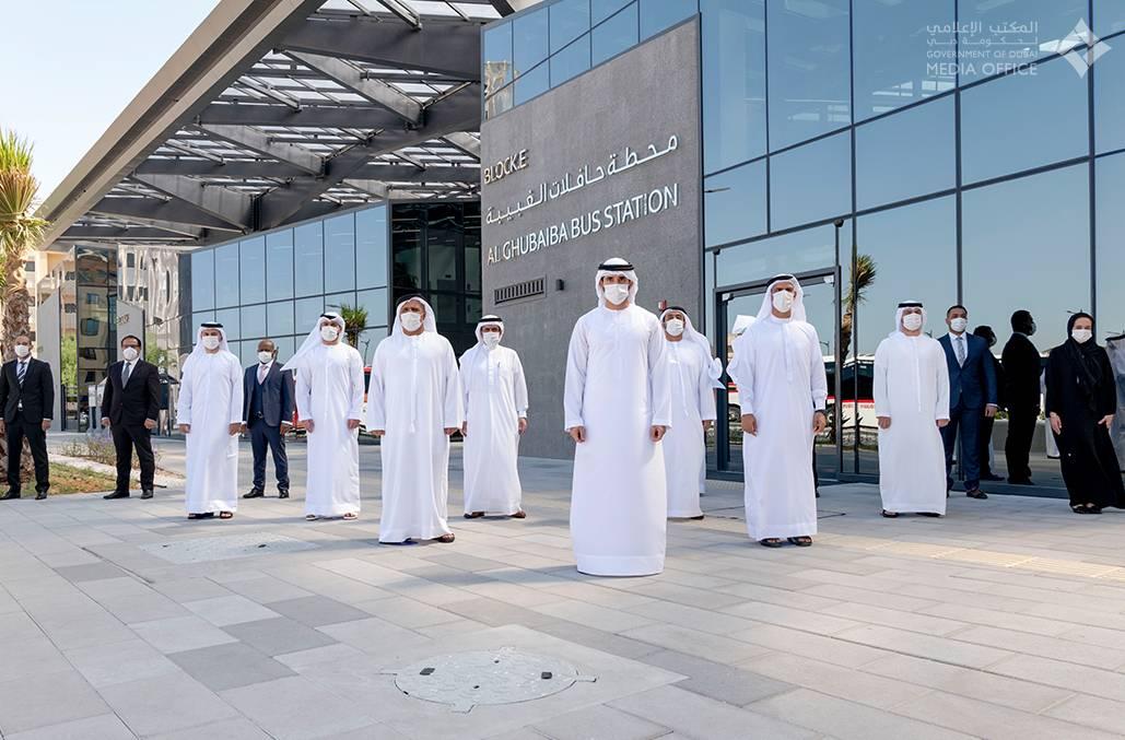 sheikh hamdan, covid-19, coronavirus, al ghubaiba bus station, expo 2020, rta, roads and transport authority