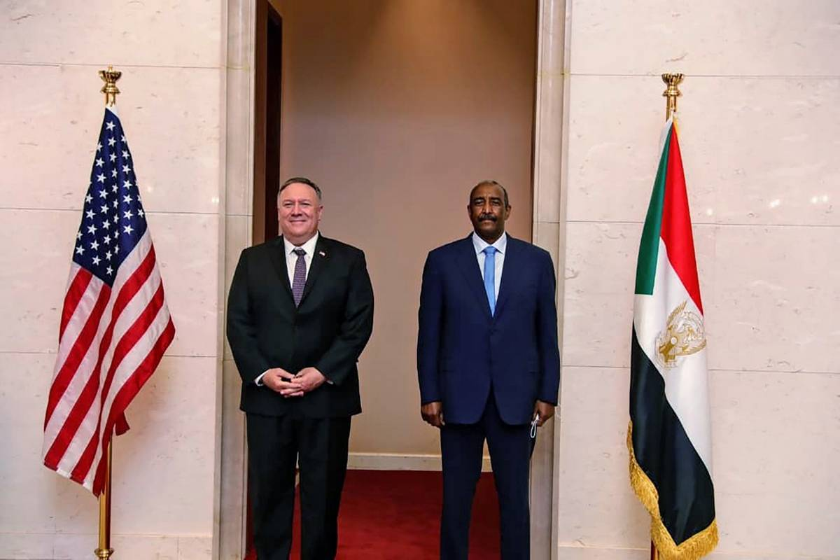Sudan, Terrorsim blacklist