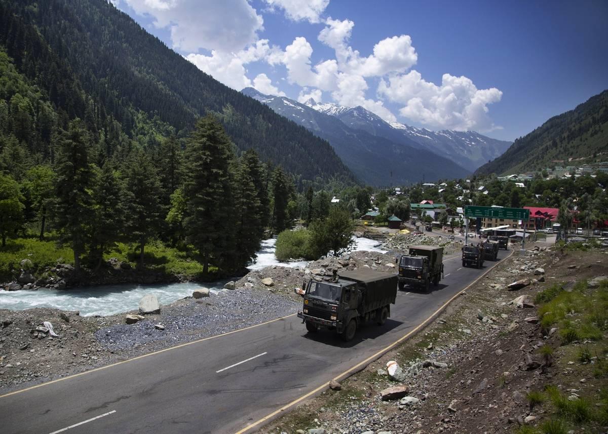India, china, Ladakh