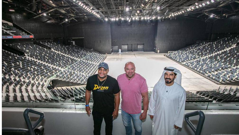 UFC gets a 'new home' in Abu Dhabi