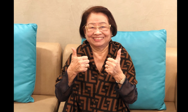 UAE Covid vaccine: 81-year-old granny takes the jab, says life is too short