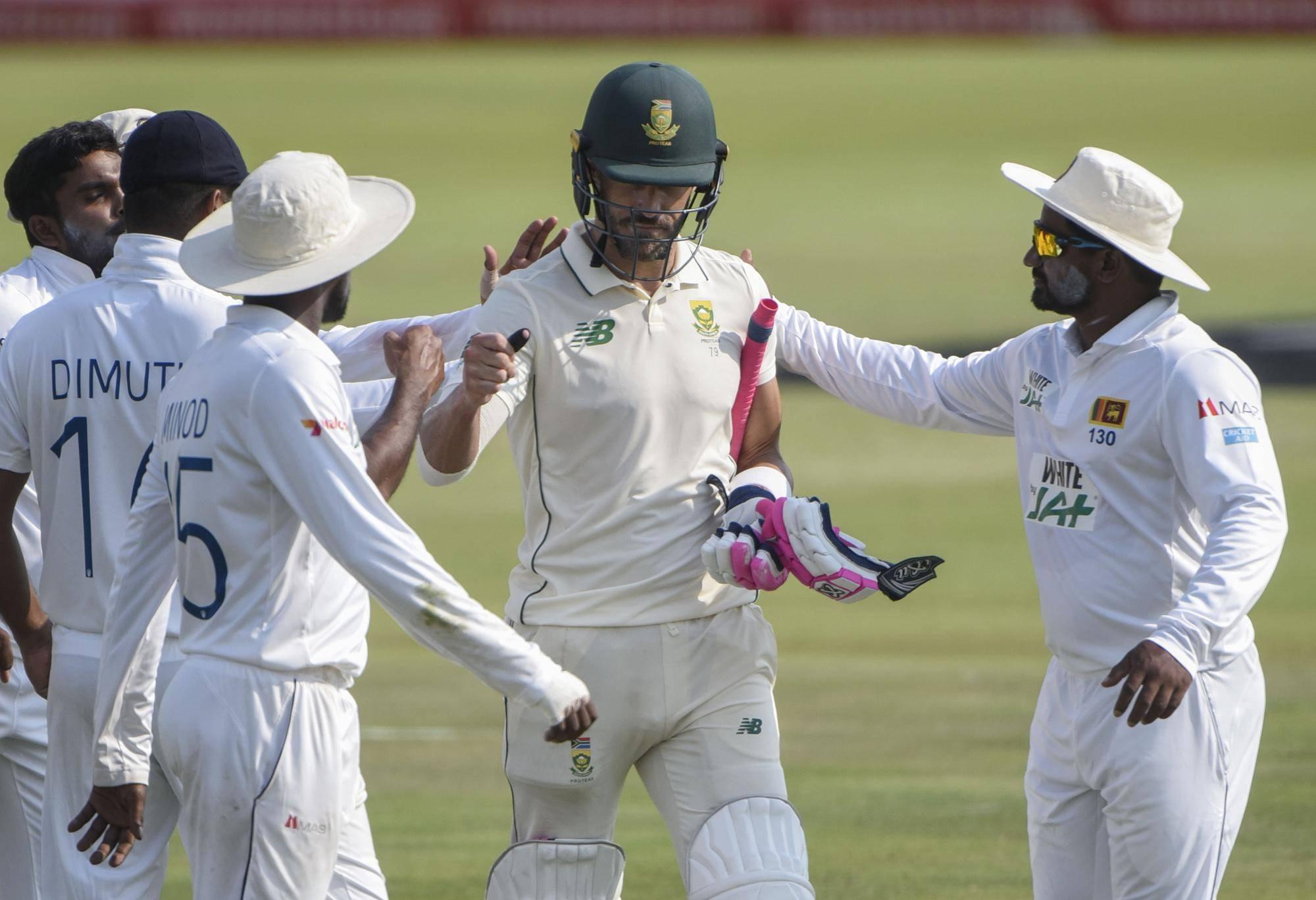 Du Plessis, South Africa punish injury-hit Sri Lanka