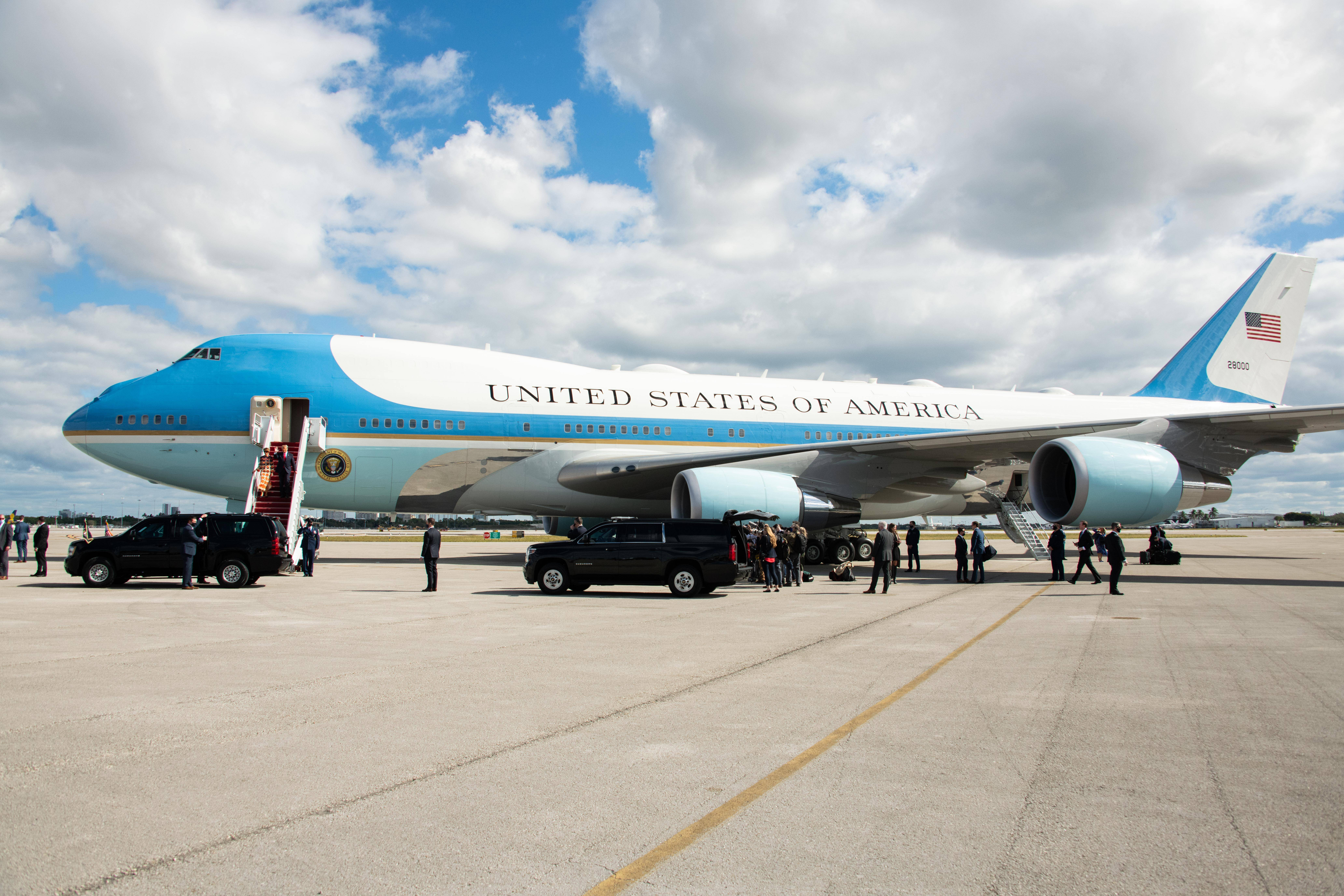 Will Biden be first US president to fly the new Air Force One ...