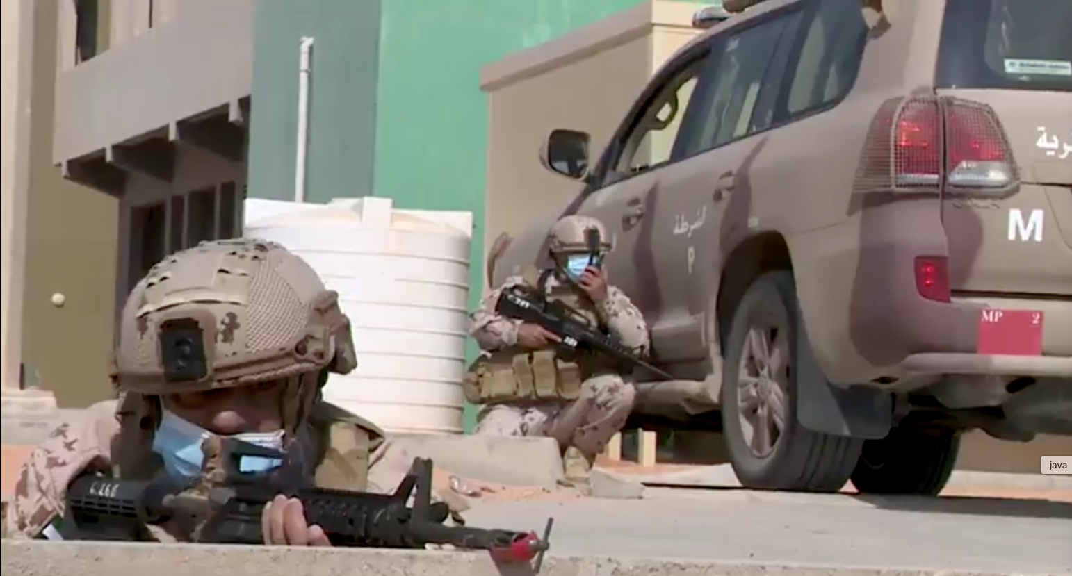 Watch: UAE, US soldiers' action-packed military drills