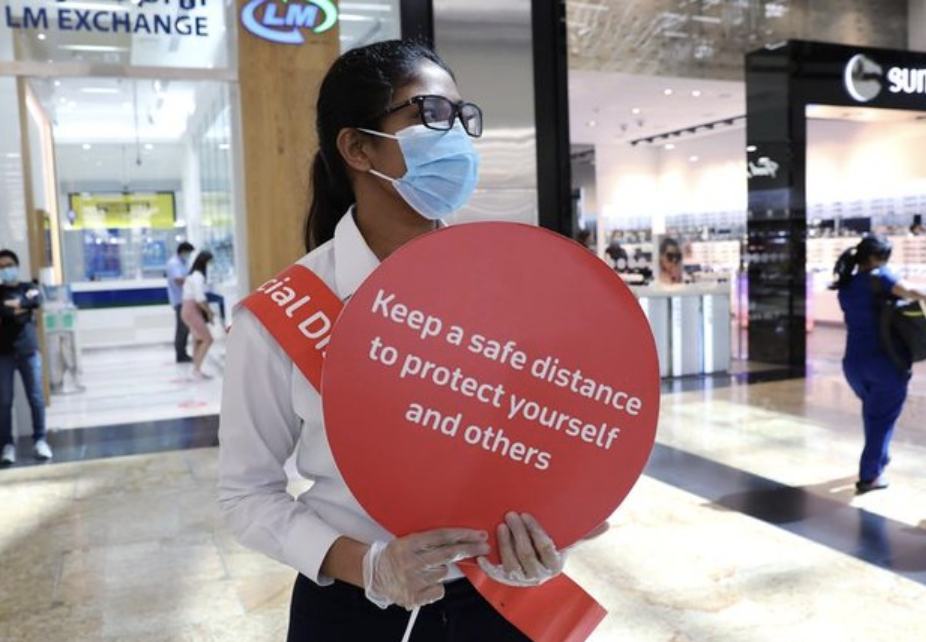 Covid-19: Dubai Police fine 443 for not wearing masks at malls