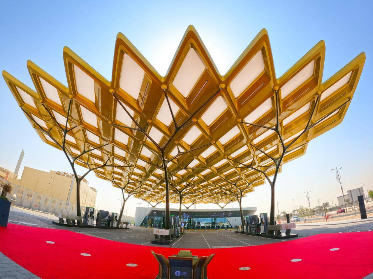 Photos: Expo 2020 Dubai gets stunning 'fuel station of the future'