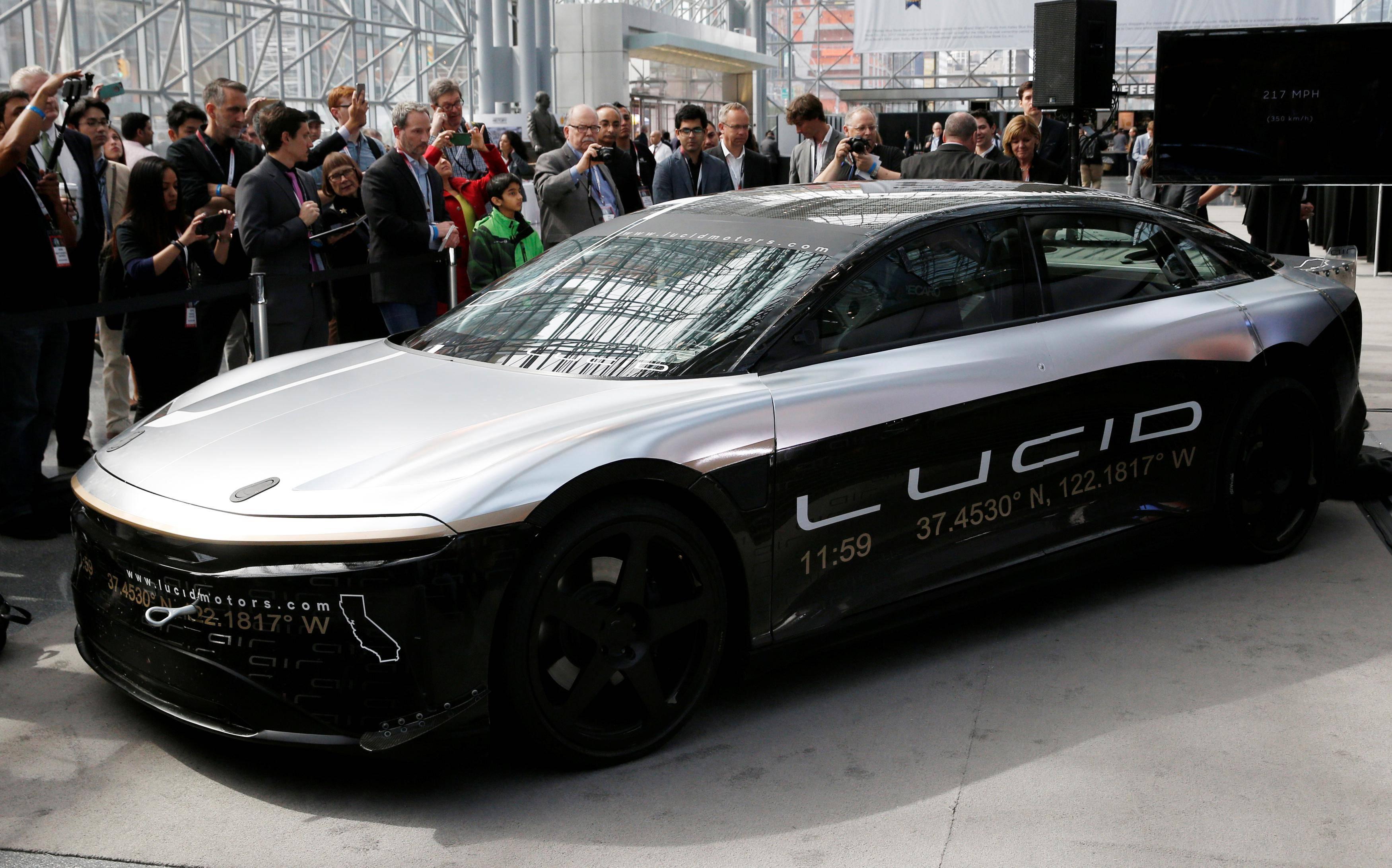 Electric carmaker start-up Lucid Motors to go public
