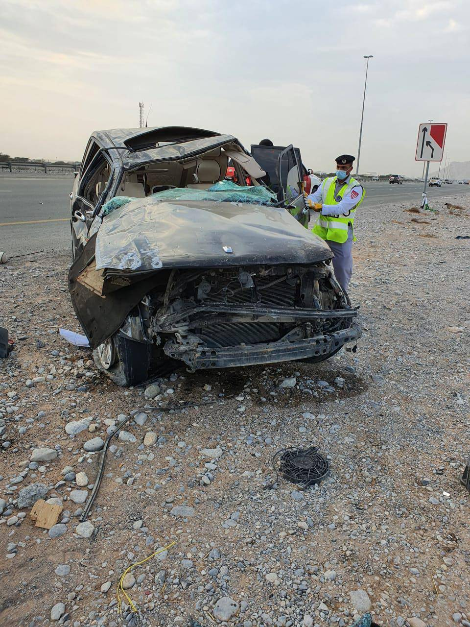 UAE: Two brothers killed in Ras Al Khaimah road crash
