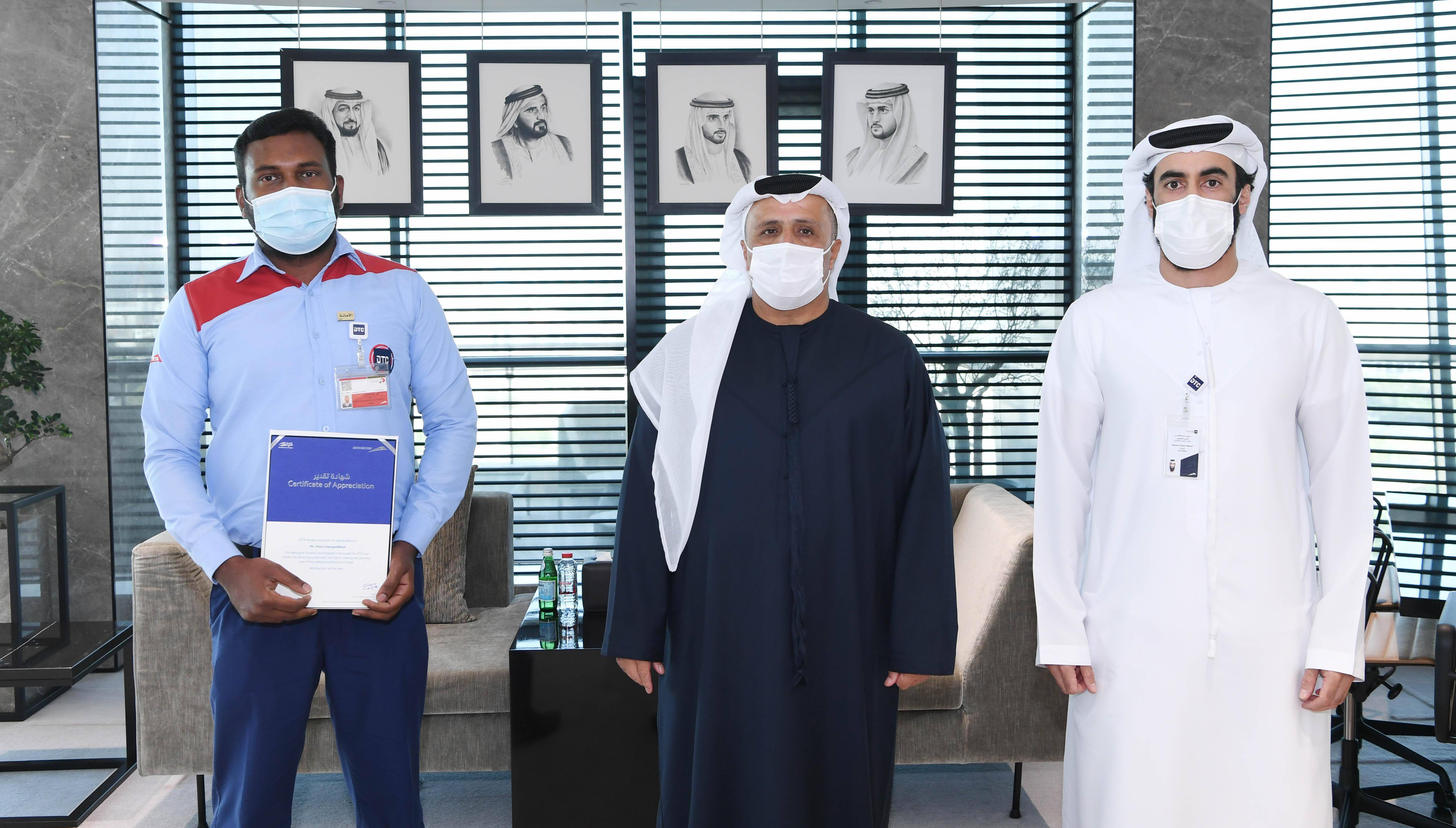 Dubai: 4 honest, helpful drivers honoured