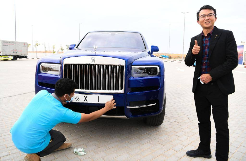 UAE: Expat buys Dh4m Rolls Royce for rare number plate