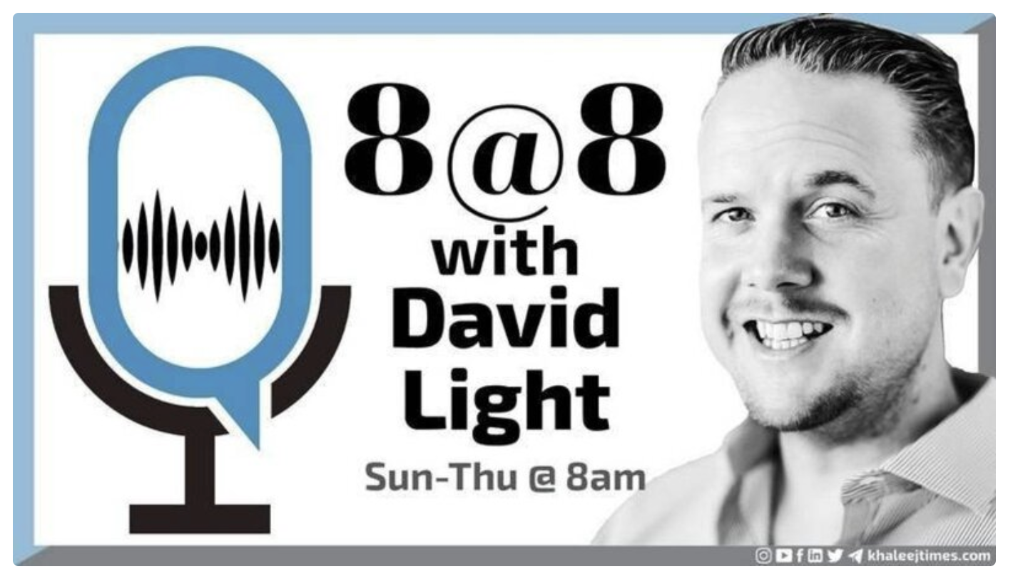 8@8 with David Light: Wednesday, March 3