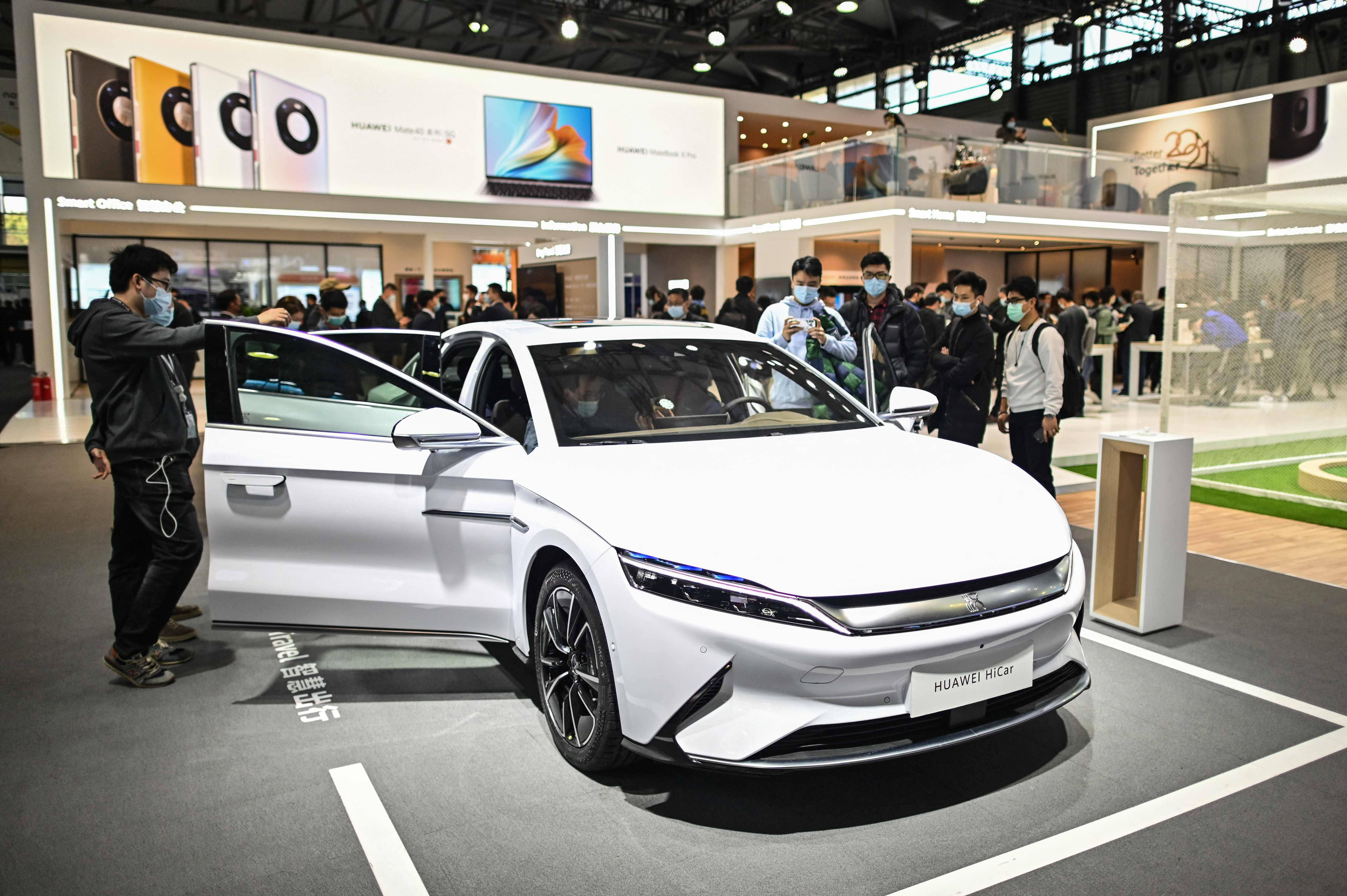 Huawei files two patents related to electric vehicles - News