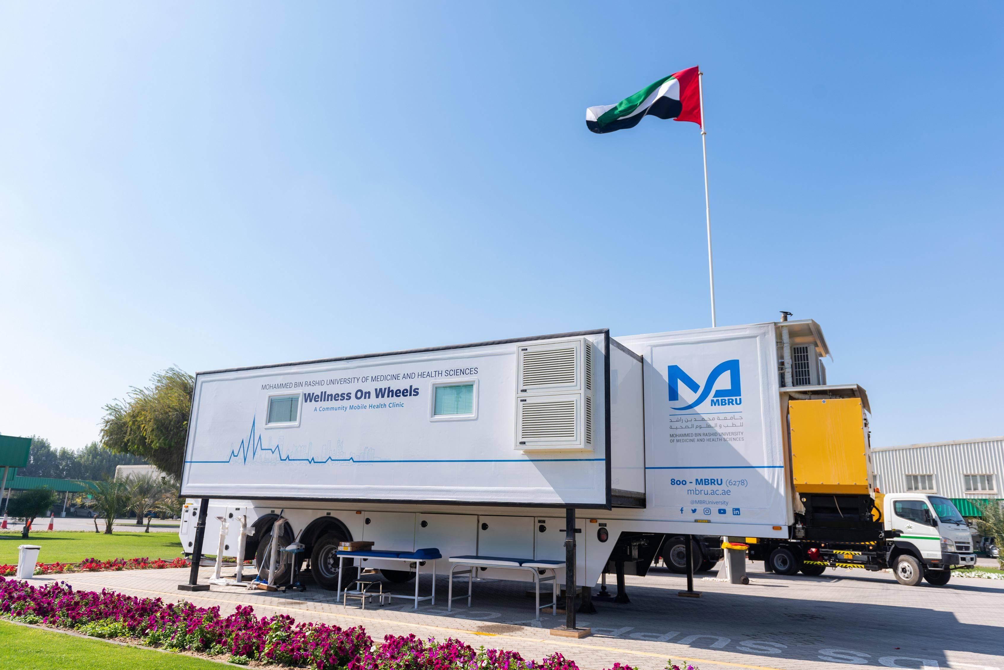 Video: Dubai rolls out Covid-19 vaccine clinics on wheels