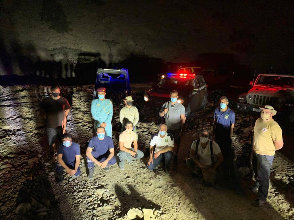 UAE: 8 trekkers rescued from deep valley in RAK