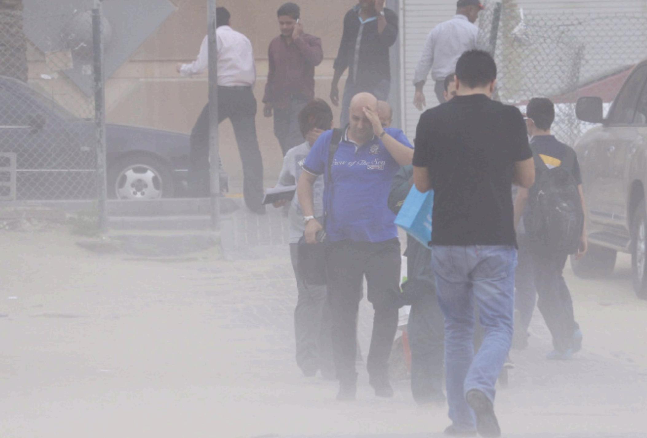 UAE weather: Brace for a dusty, hotter weekend