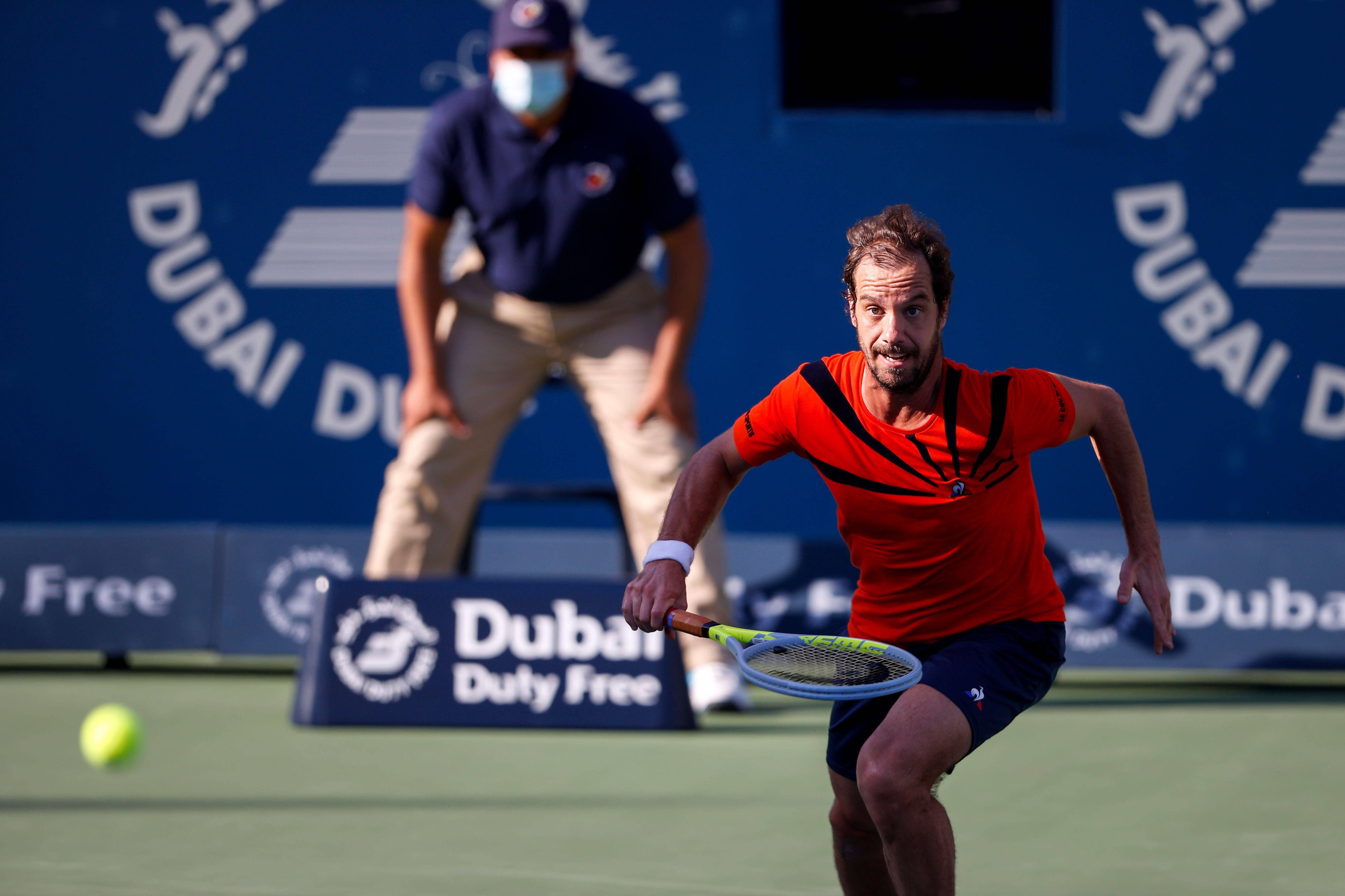 Dubai tennis: Gasquet wins 550th match, Chardy stuns Minaur