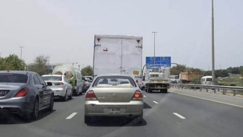 UAE traffic alert: Accident causes tailbacks on Dubai's SMBZ road - News    Khaleej Times