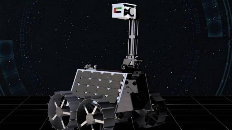UAE's 'Rashid' moon rover to launch in 2022, two years before deadline