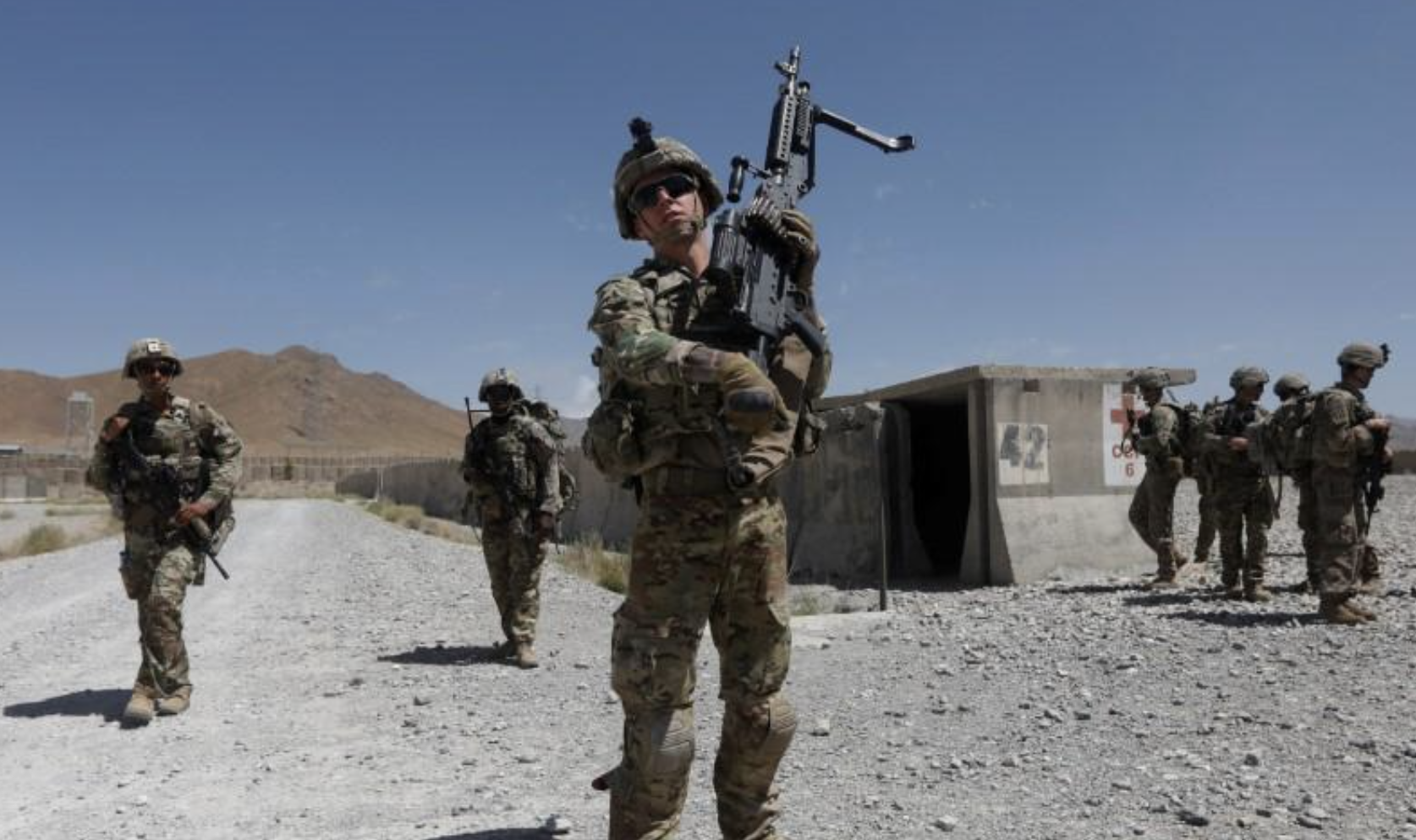 US troop set to exit Afghanistan on May 1