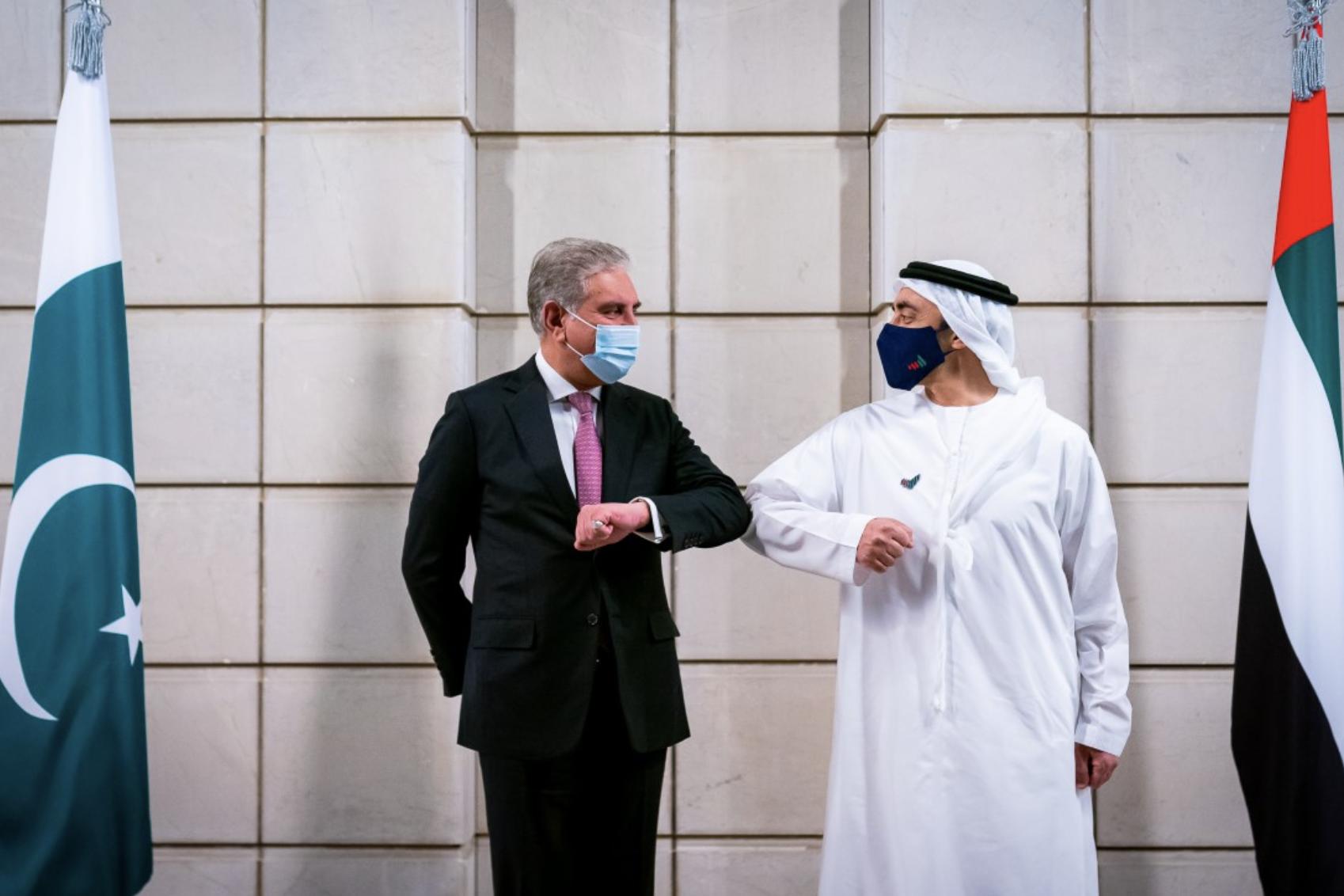 Sheikh Abdullah, Pakistan FM discuss Covid, Expo 2020 Dubai