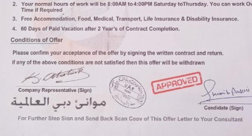 Your 'Dubai job offer letter is bogus': Indian consulate tells job seeker – News