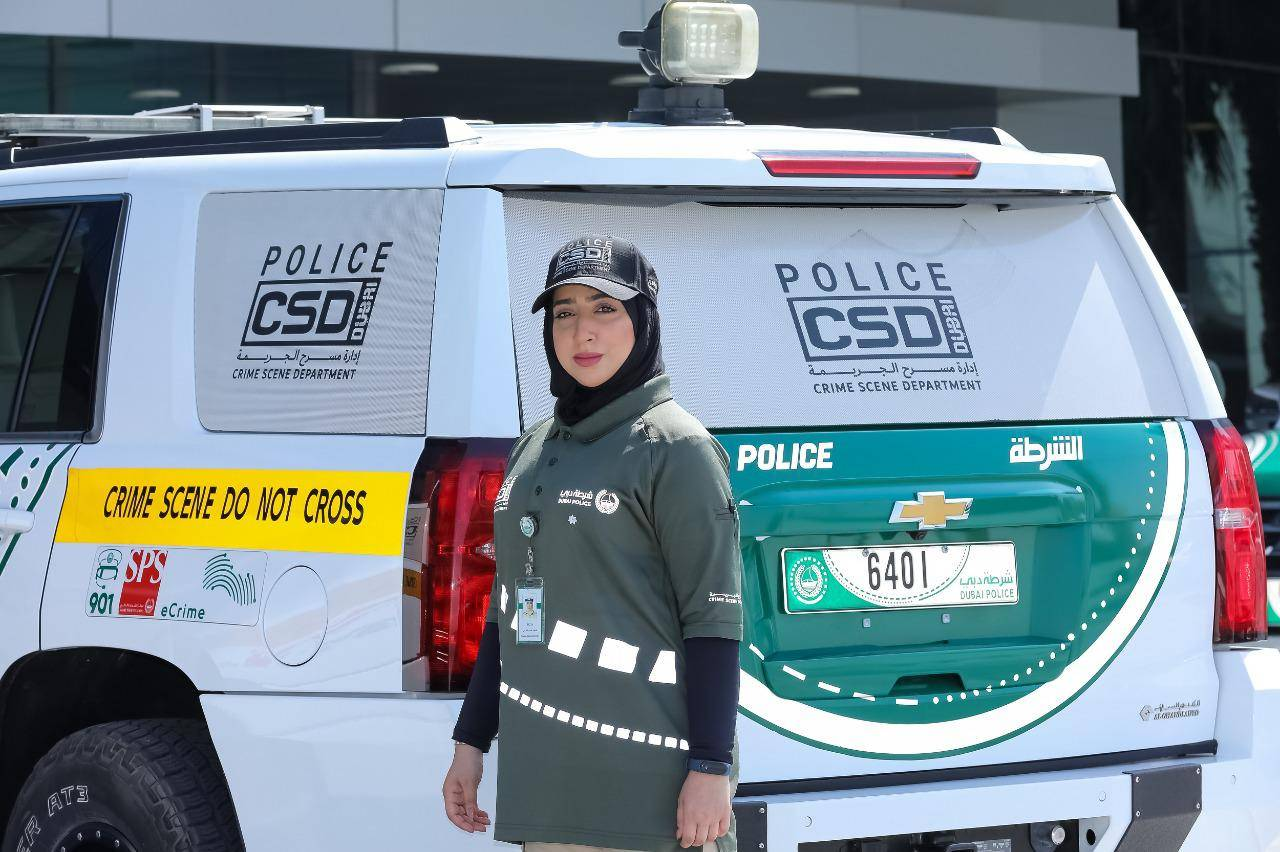Meet first woman to lead Dubai Police's crime scene investigations
