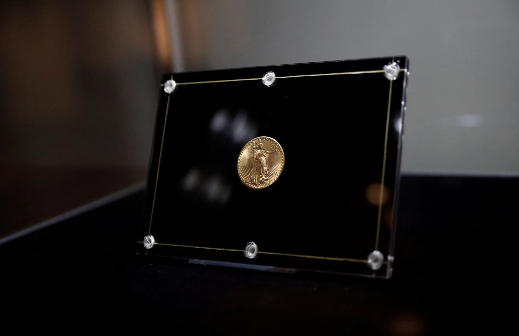 Double Eagle coin sells for record .9 million