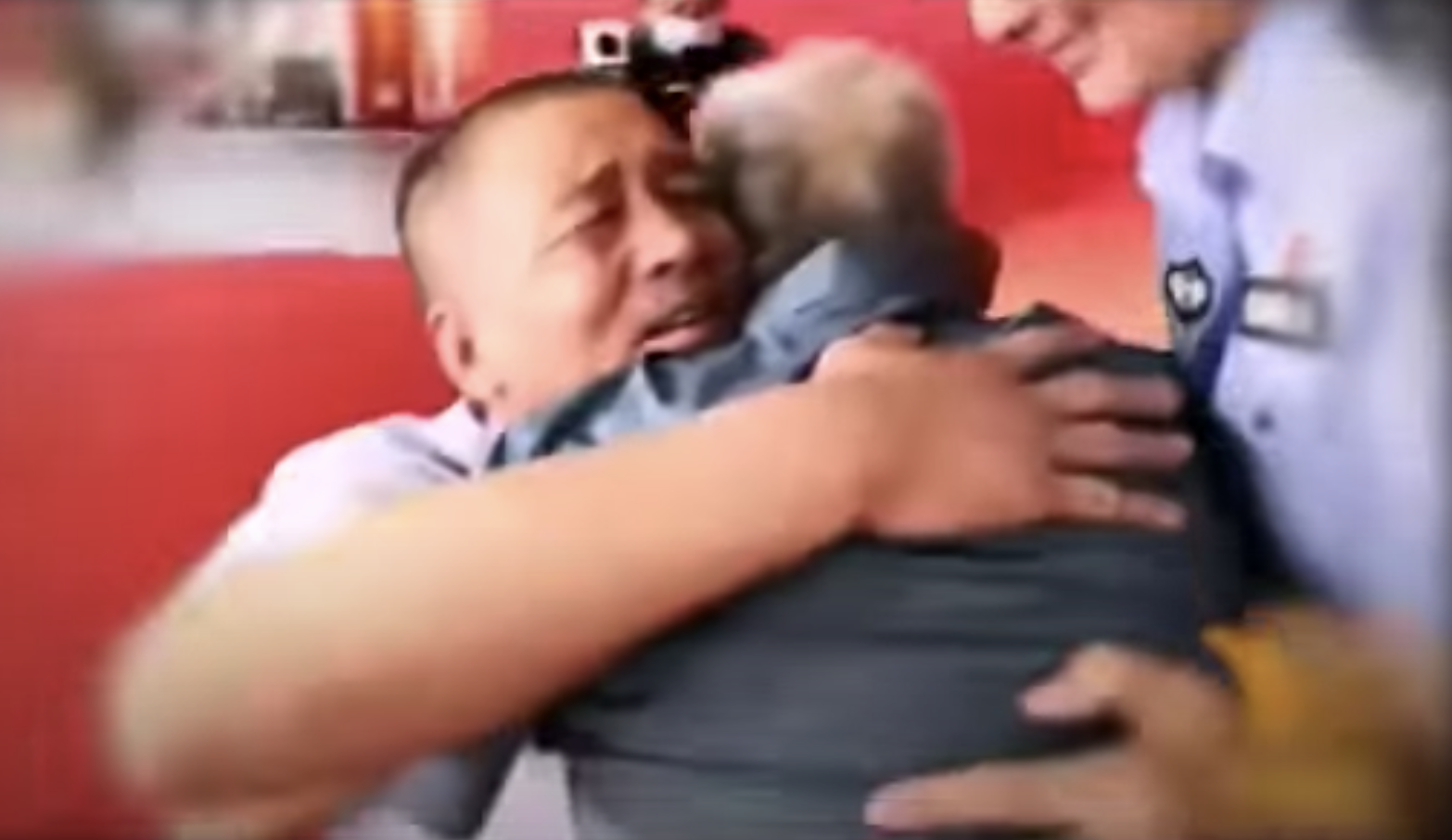 Watch: Dad has emotional reunion with son abducted 58 years ago