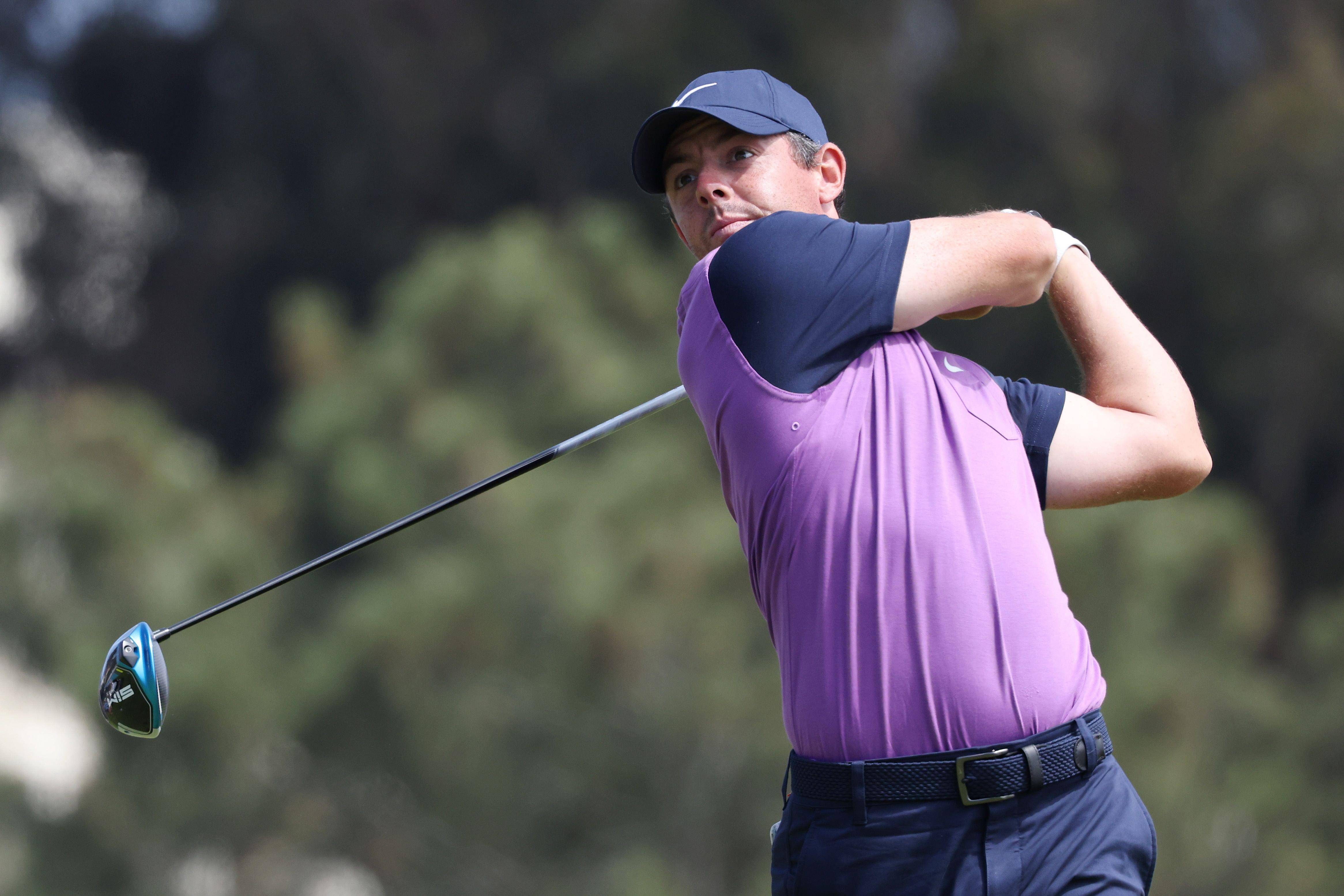 McIlroy chases lead trio in bid to end major win drought