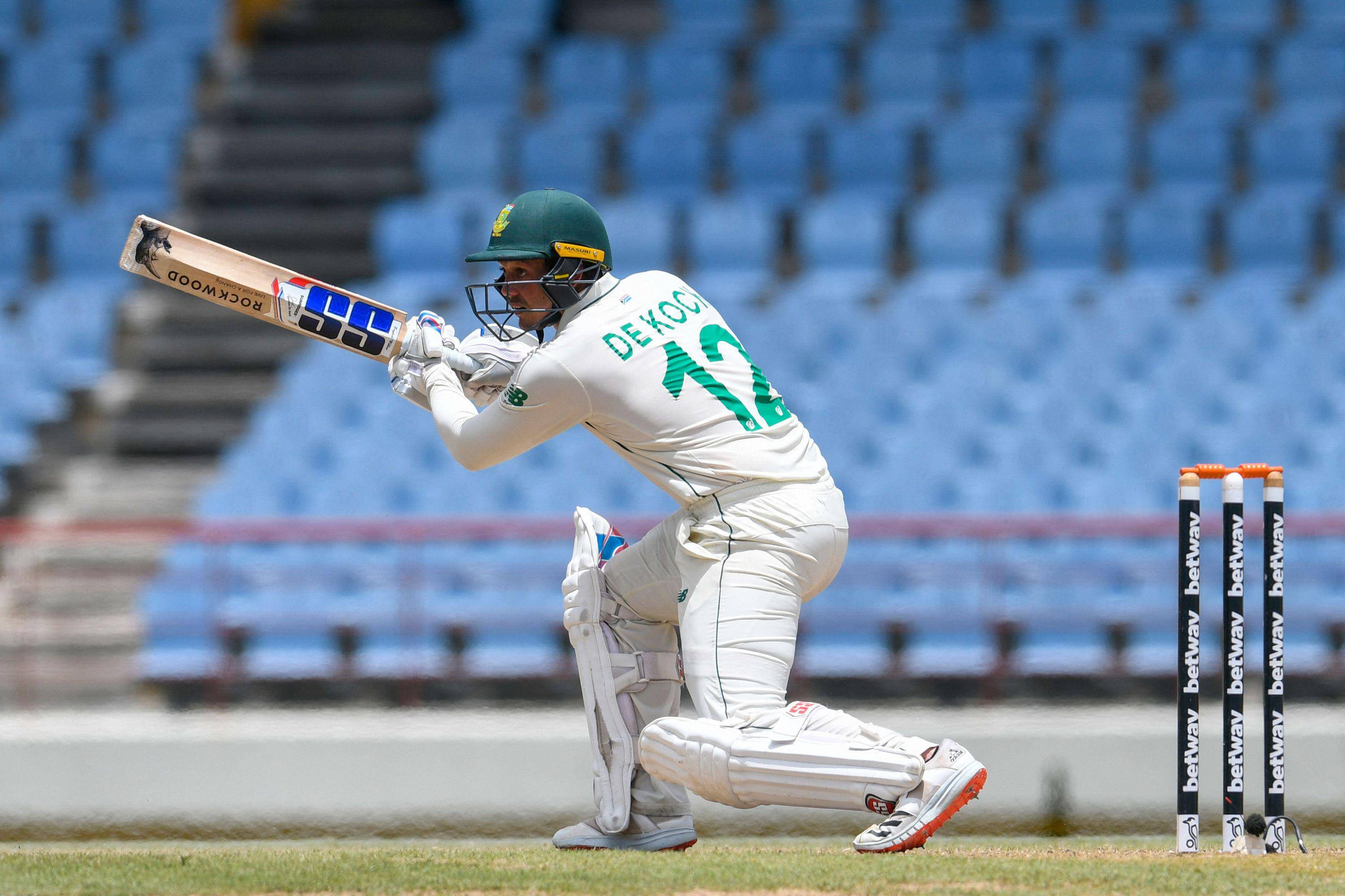 Windies wobble after De Kock puts South Africa in charge