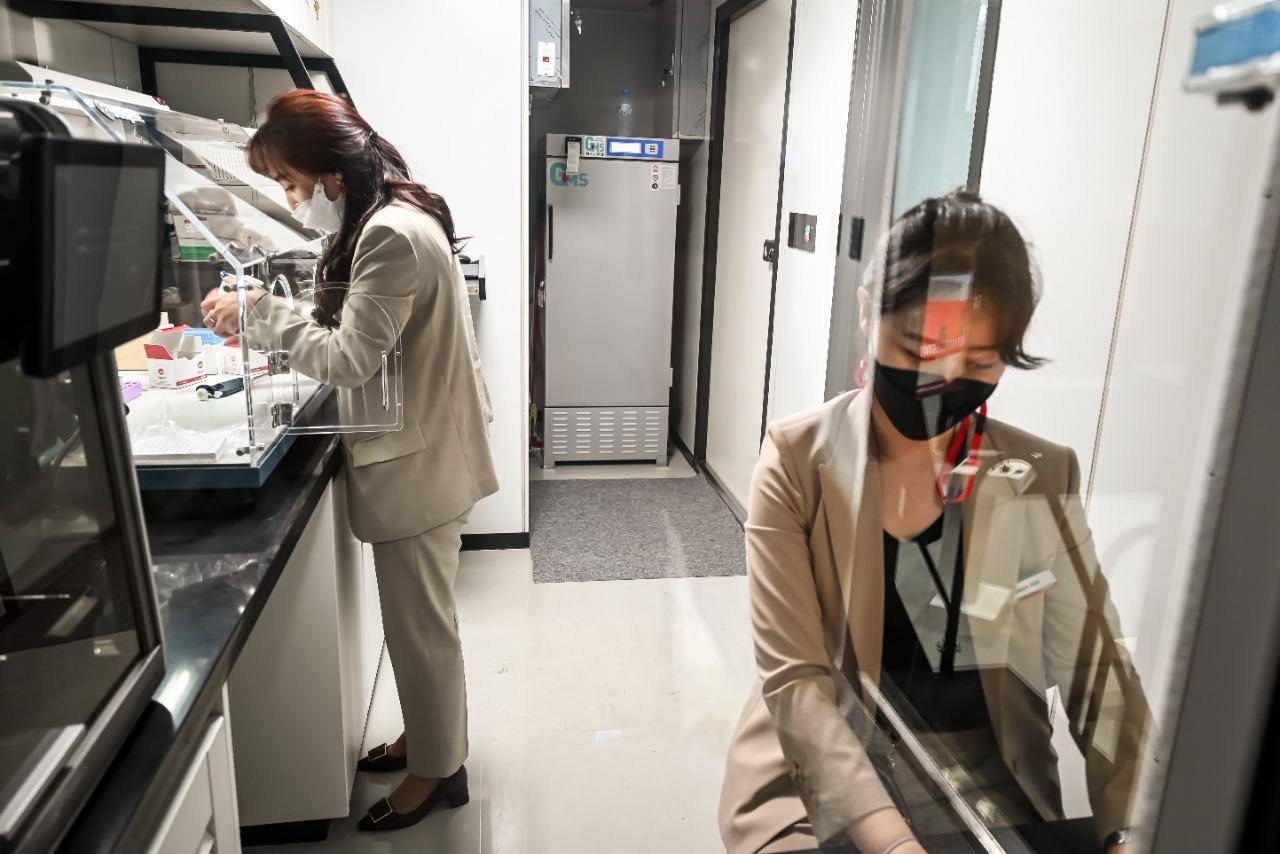 Covid: This lab on wheels can conduct 2,000 tests a day