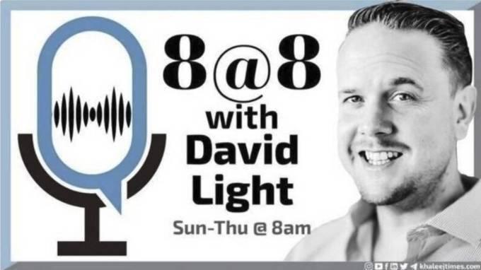 8 At 8 With David Light Wednesday July 14 News Khaleej Times