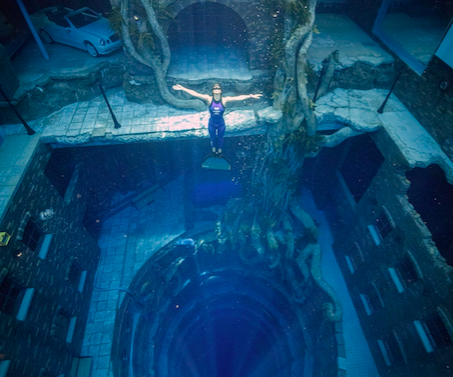 Dubai: World's deepest diving swimming pool now open to public