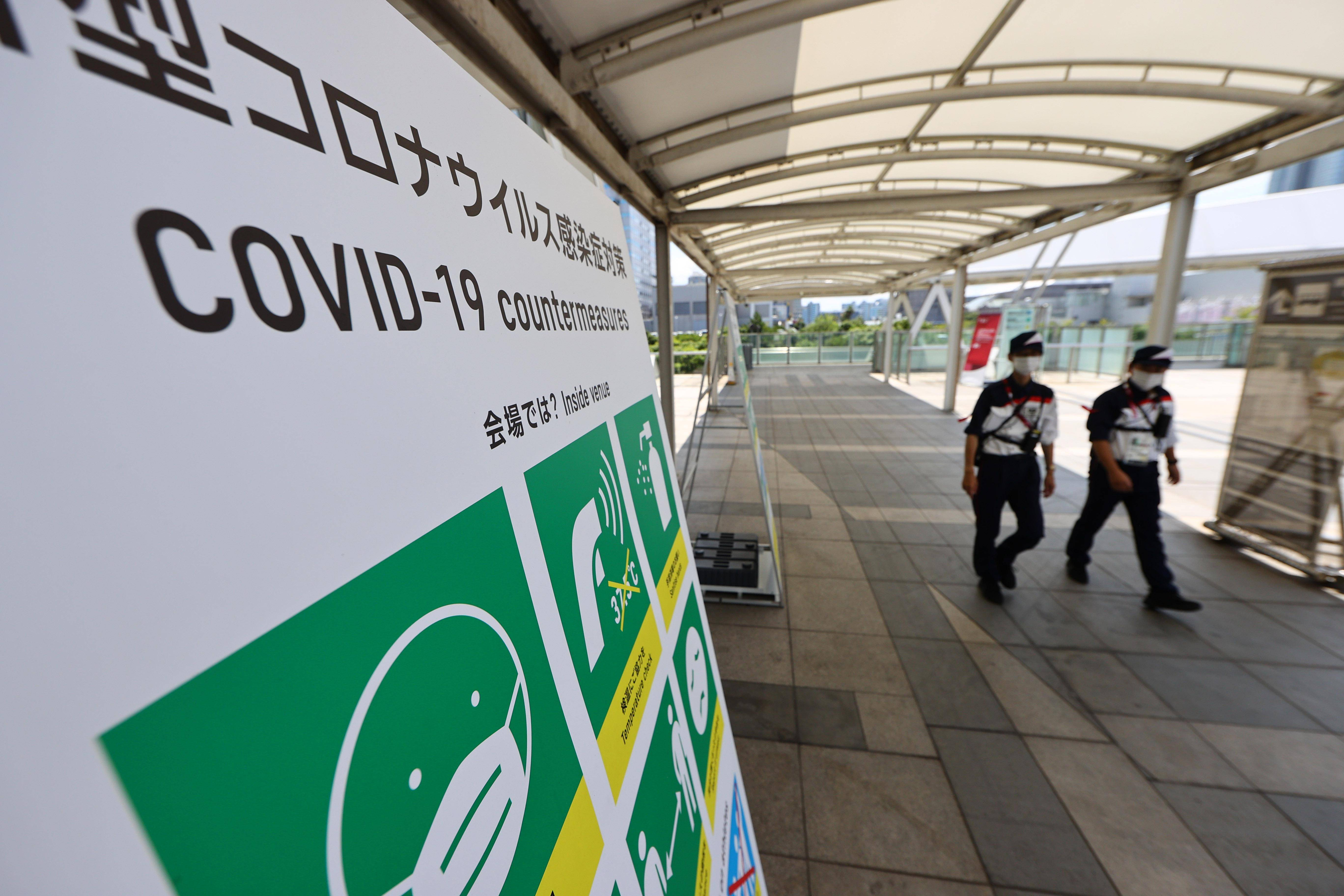 Tokyo Olympics: 7 new Covid-19 infections reported