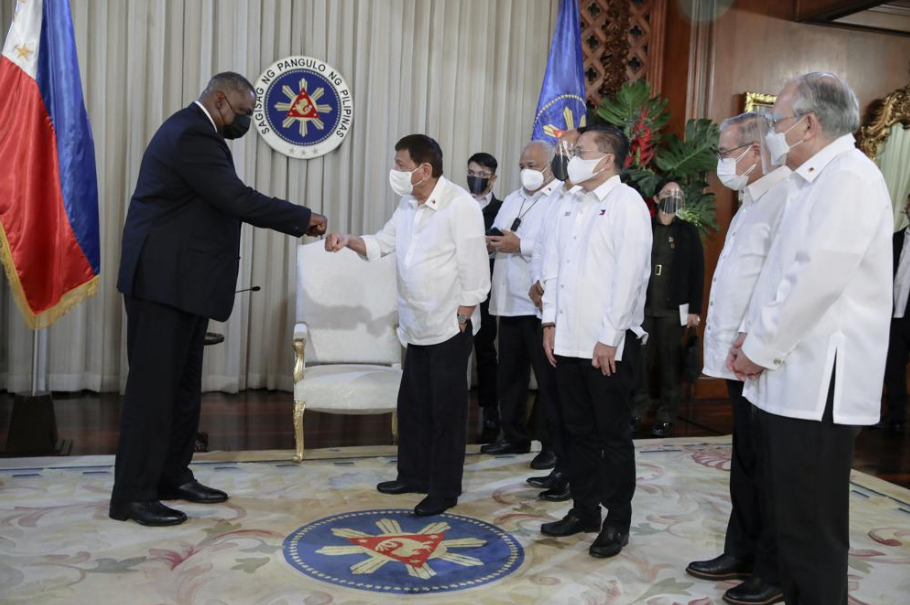 President Duterte recalls decision to void US security pact