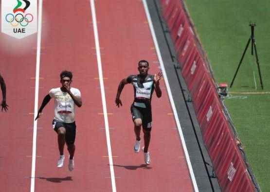 Tokyo Olympics: UAE's Al Noubi reaches next round in 100m