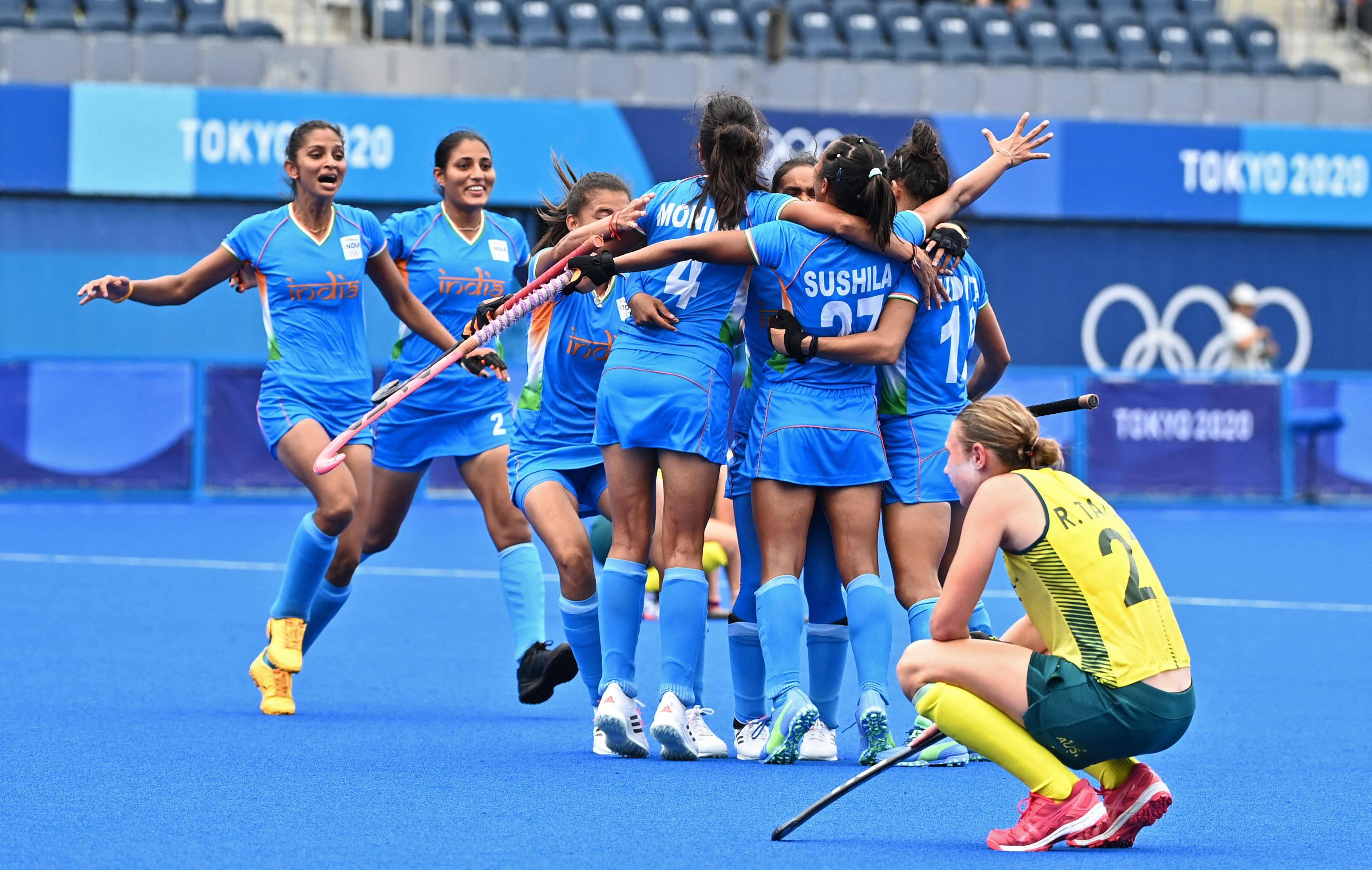 Olympics: Indian women's hockey enter semifinals