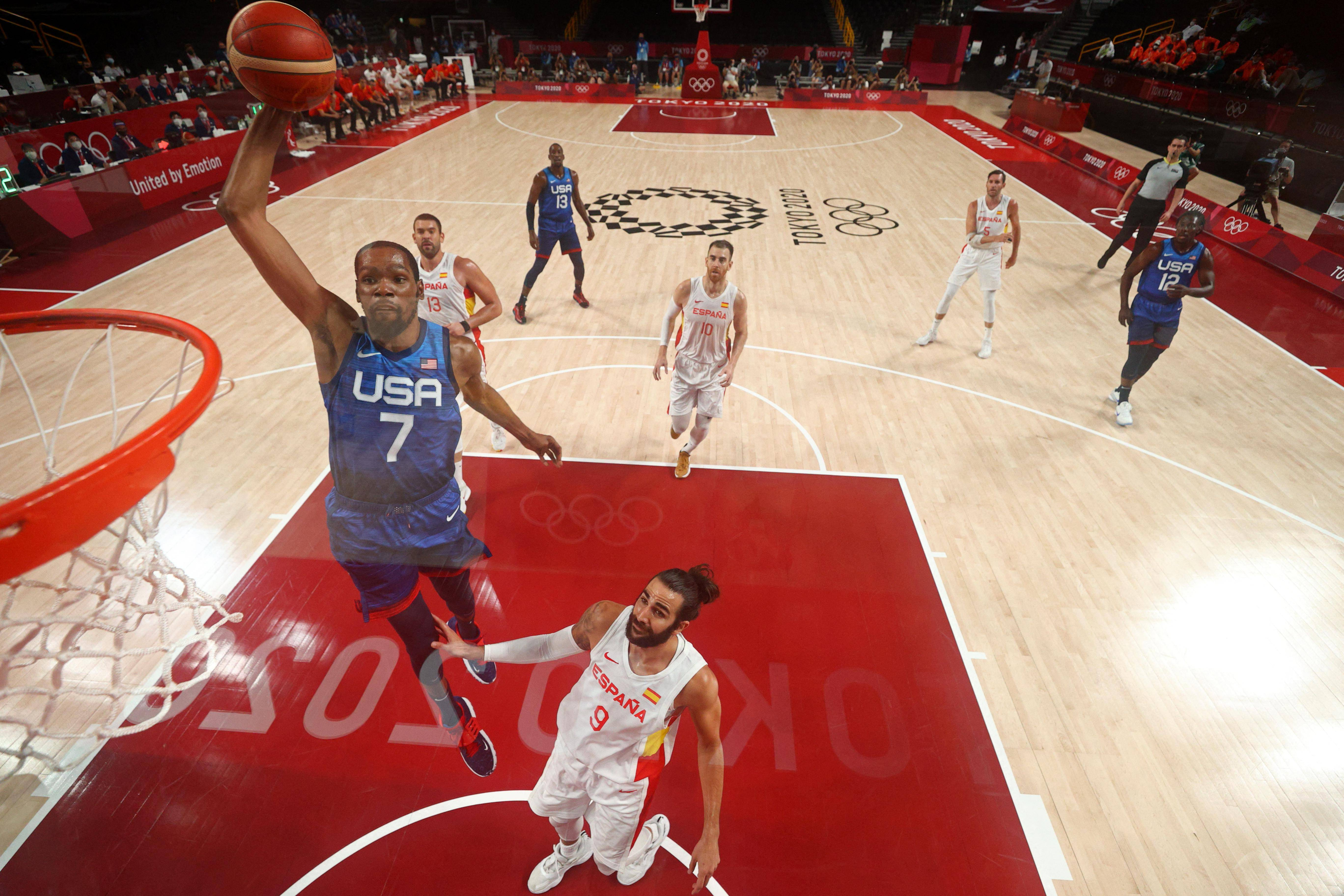 Tokyo Olympics: US superstar Durant chasing Games history