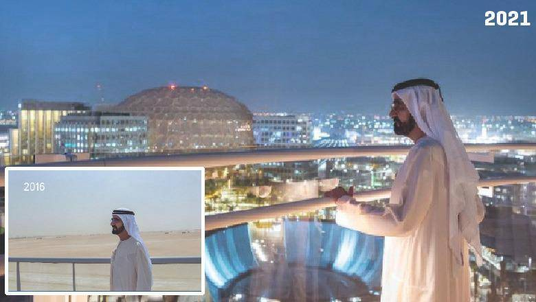 , Expo 2020 site shows how Dubai realised a dream in 5 years, The World Live Breaking News Coverage & Updates IN ENGLISH