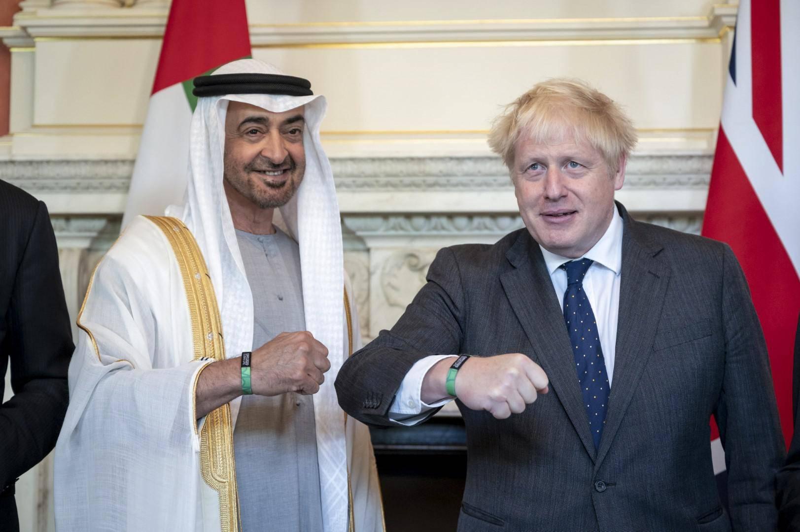 UAE, UK to establish 'Partnership for the Future'