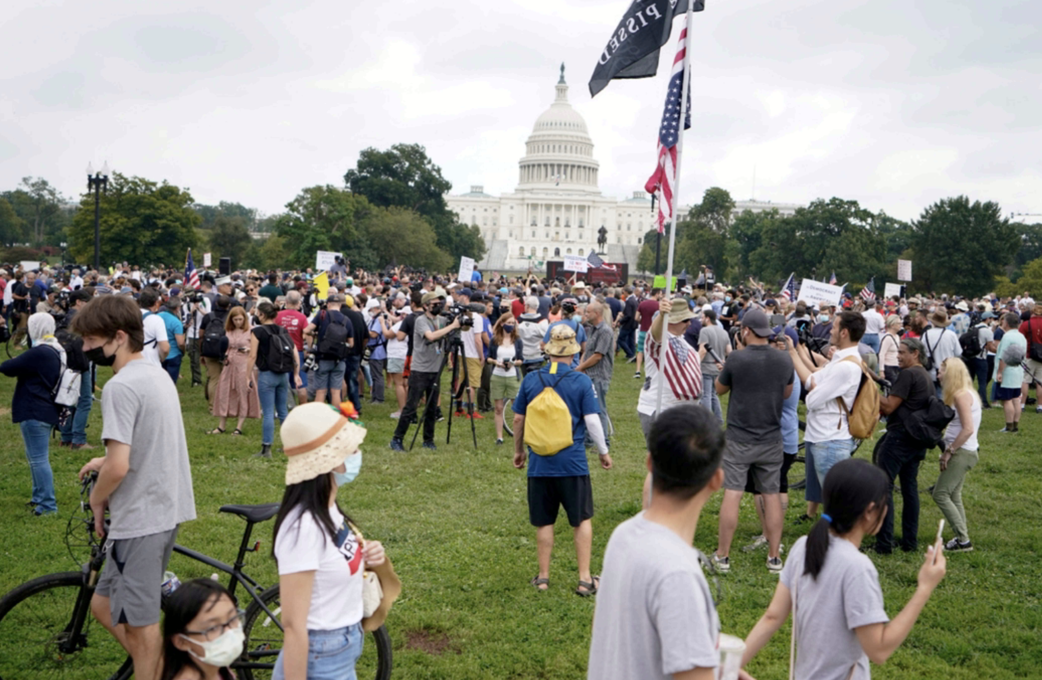 Amid high security, small pro-Trump crowd rallies at US Capitol - News