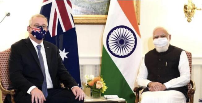Modi, Australian PM, agree on 'new initiatives'