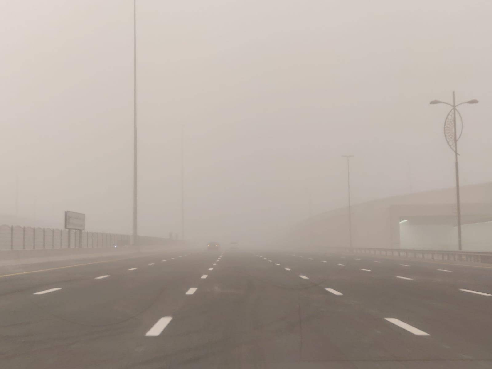 Video: Sandstorm, heavy in parts of uae on Friday