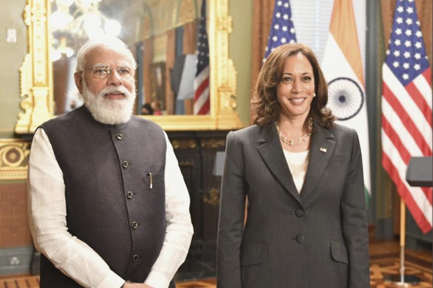 Covid-19: Harris thanks Modi for resuming vaccine exports