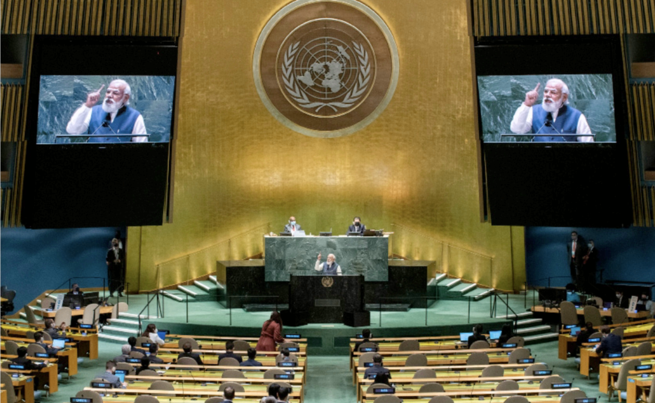 Leaders at UN face global concern over regional conflicts