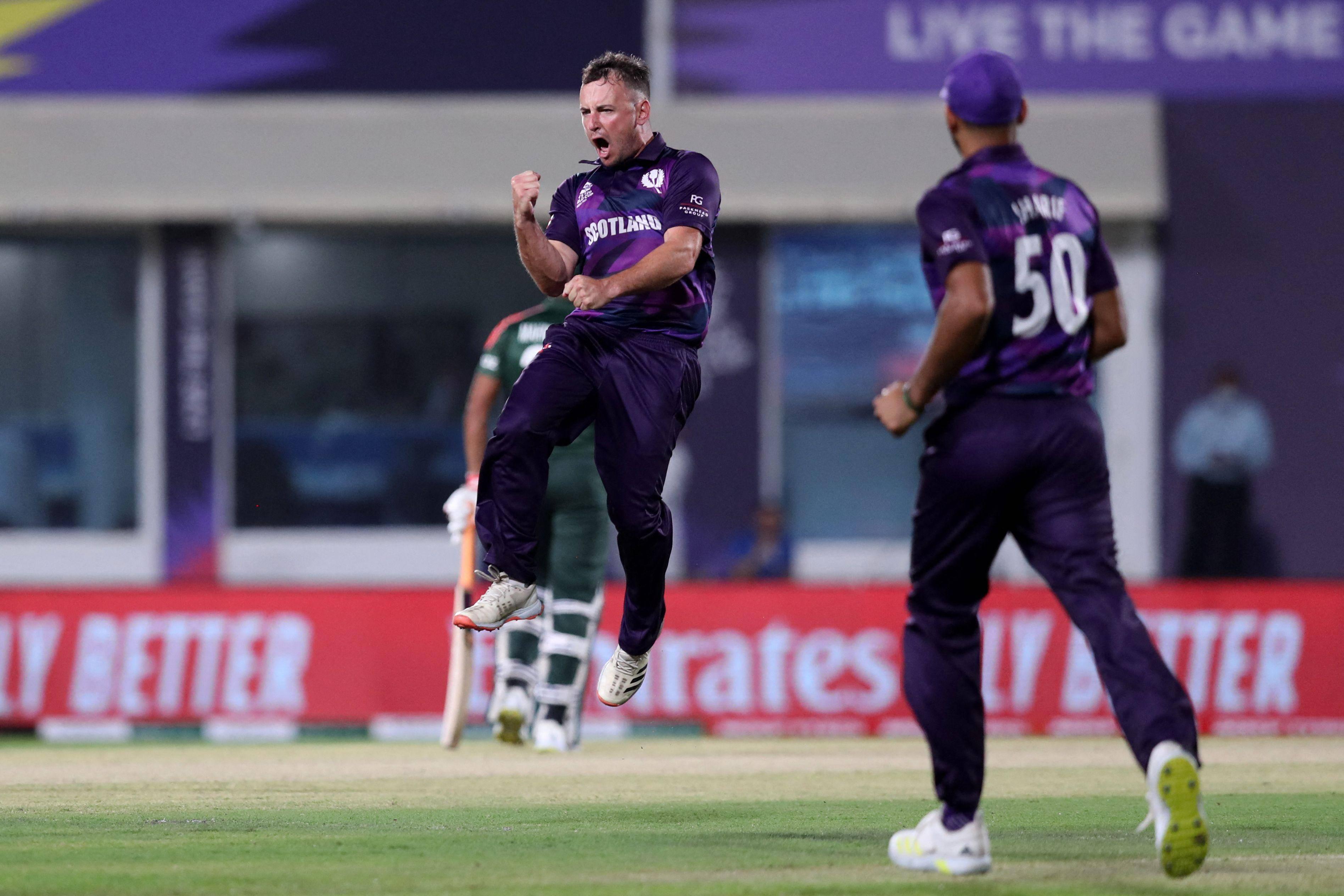 T20 World Cup: Scotland shock Bangladesh with six-run win