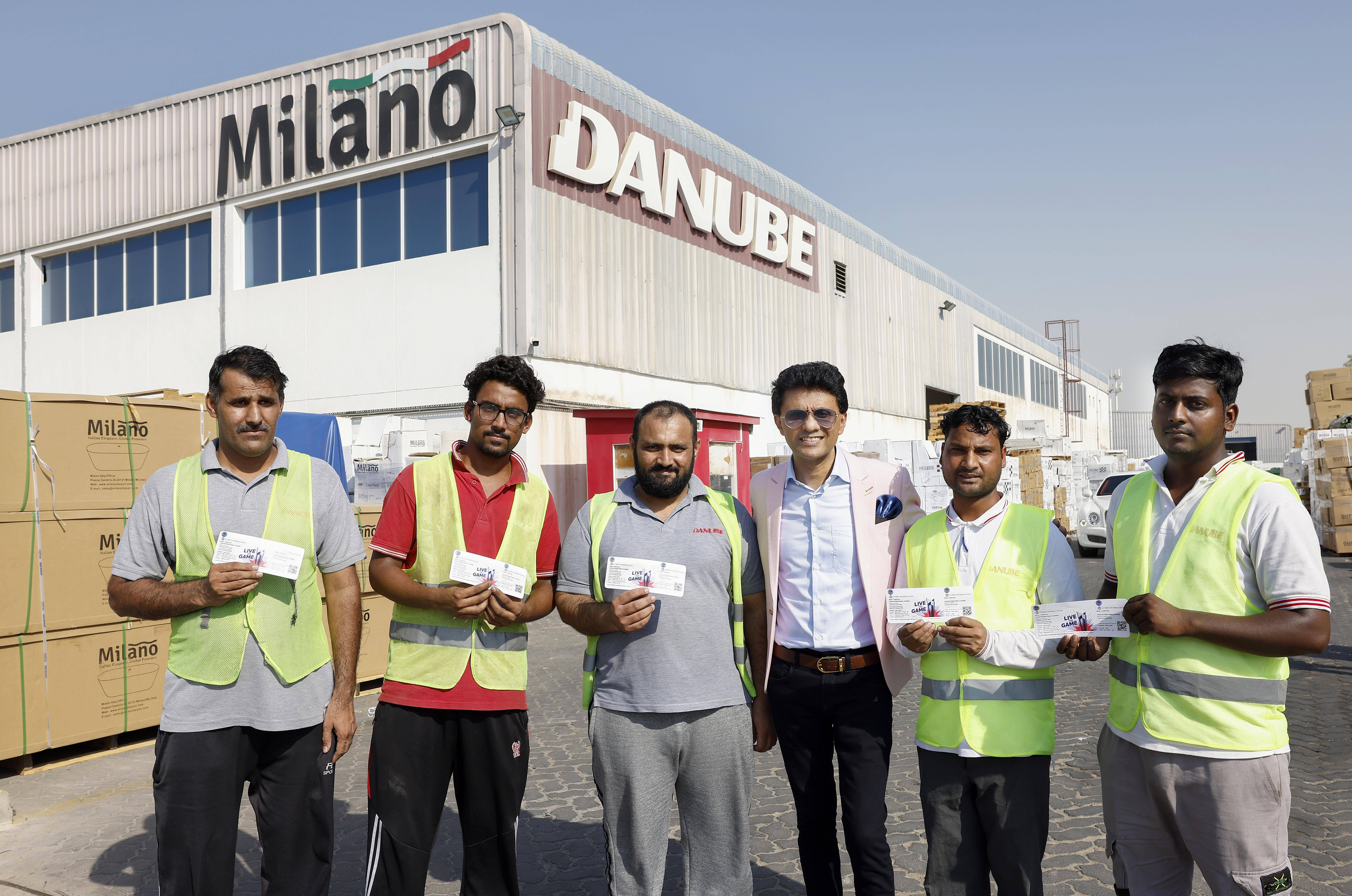 T20 World Cup: UAE businessman gives away over 100 free tickets to blue-collar workers