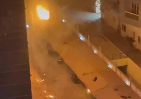 UAE: Fire crew battle blaze in Dubai Marina tower